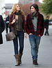 24 October 2008 - Blake Lively, John Patrick Amedori on location for 'Gossip Girl'.   Photo Credit Jackson Lee