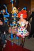 31 October 2008 - Heidi Klum and Pink at Heidi Klum's Halloween Party at 1 Oak, NYC.   Photo Credit Jackson Lee