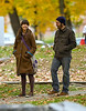 4 November 2008 - Jessica Alba films 'An Invisible Sign of My Own' in Tarrytown, NY.   Photo Credit Jackson Lee