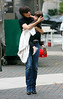 7 November 2008 - Katie Holmes and Suri Cruise go to the Metropolitan Museum in NYC.   Photo Credit Jackson Lee