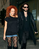 15 November 2008 - Russell Brand and girlfriend out shopping in NYC.  They went to Borders bookstore and Chanel Store.   Photo Credit Jackson Lee