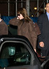 15 November 2008 - Carla Bruni arrives at her hotel in NYC.   Photo Credit FZS/SIPA