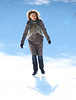 17 November 2008 - Natalie Portman films an ice skating scene for 'Love and Other Impossible Pursuits' in Wollman Rink, Central Park.   Photo Credit Jackson Lee