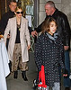 21 November 2008 - Madonna, Lourdes, and Rocco Richie depart Kaballah Center a couple of days after Madonna announced her divorce settlement with Guy Richie.   Photo Credit Jackson Lee