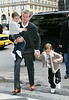 29 November 2008 - David and Victoria Beckham take their sons Brooklyn, Cruz, and Romeo to the Plaza Hotel to have Brunch.   Photo Credit Jackson Lee