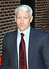 8 December 2008 - Anderson Cooper arrives at the 'David Letterman Show' in NYC.   Photo Credit Jackson Lee
