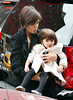 9 December 2008 - Katie Holmes takes Suri Cruise to Magnolia Bakery on the Upper West Side in NYC.   Photo Credit Jackson Lee