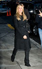 17 December 2008 - Jennifer Aniston arrives at 'The David Letterman Show' in NYC.   Photo Credit Jackson Lee *** Local Caption ***