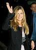 17 December 2008 - Jennifer Aniston departs 'The David Letterman Show'.   Photo Credit Jackson Lee