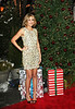 22 December 2008 - Lauren Conrad and Audrina Patridge pose with wrapped toys that they are donating to 'Toys for Tots' and with the Marines at the Hills finale viewing party at Tavern on the Green, NYC. Photo Credit Jackson Lee