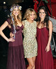 22 December 2008 - Whitney Port, Lauren Conrad, Audrina Patridge at the Hills finale viewing party at Tavern on the Green, NYC. Photo Credit Jackson Lee
