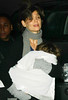 03 January 2009 - Katie Holmes and Suri Cruise come back to their apartment after the matinee performance of 'All My Sons'. Photo Credit Jackson Lee