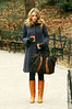 06 January 2009 - Blake Lively on the set of 'Gossip Girl' in Central Park, NYC. Photo Credit Jackson Lee