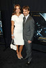 7 January 2009 - Jeff Gordon and Ingrid Vandebosch at the NY Premiere of 'Notorious'. Photo Credit Jackson Lee