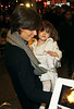 9 January 2009 - Katie Holmes and Suri Cruise depart the Schoenfeld Theater. Photo Credit Jackson Lee
