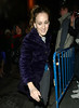 9 January 2009 - Sarah Jessica Parker is all smiles after attending Katie Holmes' Broadway show 'All My Sons' at the Schoenfeld Theater, NYC. Photo Credit Jackson Lee
