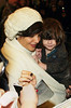 11 January 2009 - Katie Holmes and Suri Cruise depart the Schoenfeld Theater for the final performance of 'All My Sons' with Suri Cruise. Photo Credit Jackson Lee