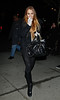 23 January 2009 - Lindsay Lohan shocked onlookers with her weight-loss as she shopped for shoes with her mother and sister in New York. Photo Credit Jackson Lee