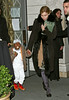 23 January 2009 - Madonna holds David Banda's hand while departing Kabbalah Center with Lourdes. Photo Credit Jackson Lee