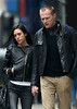 30 January 2009 - Jennifer Connelly and Paul Bettany out and about in NYC. Photo Credit Jackson Lee