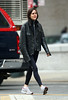 30 January 2009 - Jennifer Connelly looks extremely skinny while out for a run in NYC. Photo Credit Jackson Lee