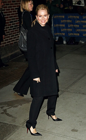 9 February 2009 - Naomi Watts at 'The David Letterman Show' at the Ed Sullivan Theatre.  Photo Credit Jackson Lee