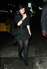 11 February 2009 - Lily Allen out for dinner in NYC looking happy.  Photo Credit Jackson Lee