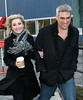 19 February 2009 - Taylor Hicks and a mystery woman go out and about in NYC. Photo Credit Jackson Lee