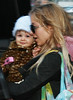 19 February 2009 - Nicole Richie and baby Harlow go out and about in NYC. Photo Credit Jackson Lee