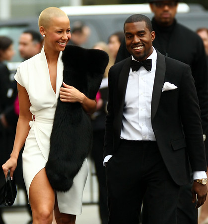 15 March 2009 - Kanye West and Amber at the Metropolitan Opera's 125th Anniversary Gala. Photo Credit Jackson Lee