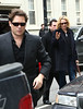 20 March 2009 - Uma Thurman and Arpad Busson out and about in NYC. Photo Credit Jackson Lee
