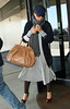24 March 2009 - Janet Jackson and Jermaine Dupri at LaGuardia Airport in NYC.  Photo Credit Jackson Lee