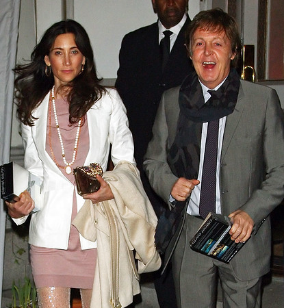 30 March 2009 - Paul McCartney and Nancy Shevell at Natural Resources Defense Council 11th Annual Benefit gala. Photo Credit Jackson Lee