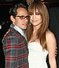 1 April 2009 - Jennifer Lopez and Marc Anthony go to a private dinner celebrating the opening of Kate Moss' new store 'Top Shop' at Balthazar in NYC. Photo Credit Jackson Lee