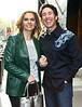 7 April 2009 - Joel Osteen and Victoria Osteen out and about in NYC  Photo Credit Jackson Lee