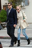 EXCLUSIVE<br /> 12 April 2009 - Diane Kruger and Joshua Jackson are all smiles as they walk hand-in-hand on the streets of SoHo, NYC . Photo Credit Jackson Lee
