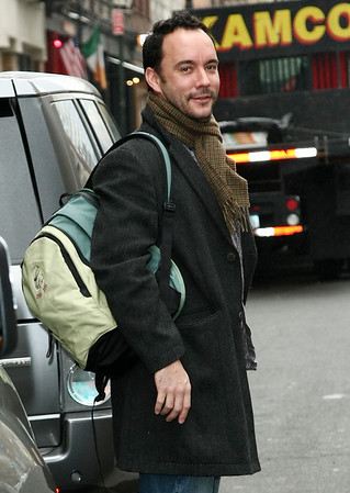 14 April 2009 - Dave Matthews out and about in NYC.  Photo Credit Jackson Lee