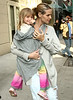 15 April 2009 - Heidi Klum takes kids Leni, Johan, and Henry to FAO Schwarz in NYC.  Photo Credit Jackson Lee