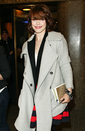 15 April 2009 - Rachel McAdams out and about in NYC taping morning shows.  Photo Credit Jackson Lee