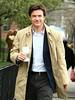 21 April 2009 - Jason Bateman on the set of 'The Baster' in NYC. Photo Credit Jackson Lee