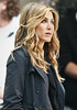 27 April 2009 - Jennifer Aniston on the set of 'The Baster' in NYC.  Photo Credit Jackson Lee