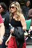 29 April 2009 - Jennifer Aniston on the set of 'The Baster' in NYC. Photo Credit Jackson Lee
