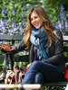 15 May 2009 - Jennifer Aniston films a scene for 'The Baster' in New York's Central Park.  Photo Credit Jackson Lee