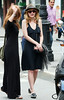 29 May 2009 - Kirsten Dunst out and about with a friend in the West Village, NYC. Photo Credit Jackson Lee
