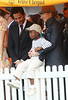 30 May 2009 - Madonna takes Jesus, David Banda, Rocco to the 2nd Annual Veuve Clicquot Manhattan Polo Classic featuring Prince Harry. Madonna appears in a happy mood as she plays around with David Banda and picks him up, combs Rocco's hair through her fingers and plays around with his cap. She is flanked by pals Marc Jacobs and Steve Klein, who also picks up David Banda at times as they all watch Prince Harry take on Nacho Figueras. Meanwhile, Jesus Luz is nearby chatting up Lorenzo Martone, Marc Jacob's partner. Photo Credit Jackson Lee