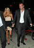 1 June 2009 - Paris Hilton and Doug Reinhardt head to La Esquina for dinner in NYC. Photo Credit Jackson Lee