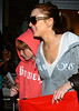 19 June 2009 - Lindsay Lohan takes baby brother Cody Lohan out shopping for his 13th birthday at Blue & Cream in the East Village, NYC.  Photo Credit Jackson Lee