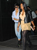 17 June 2009 - Rihanna heads out of her hotel with few friends for dinner in NYC.  Photo Credit Jackson Lee