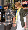 12 July 2009 - Keith Urban and Nicole Kidman walk hand-in-hand after watching 'Public Enemies' at a midtown movie theater in NYC. Photo Credit Jackson Lee