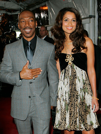 04 Dec 2006 - New York, NY - Eddie Murphy and Tracey Edmonds, now dating, at the NY Premiere of 'Dreamgirls'.  Photo Credit Jackson Lee